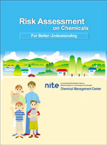 "Cover of ""Risk Assessment on chemicals"" pamphlet"